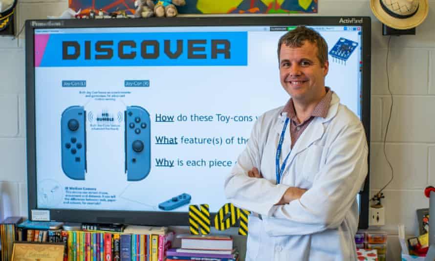 Southgate primary school teacher Chris McGivern