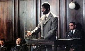 Denzel Washington as Steve Biko in Cry Freedom