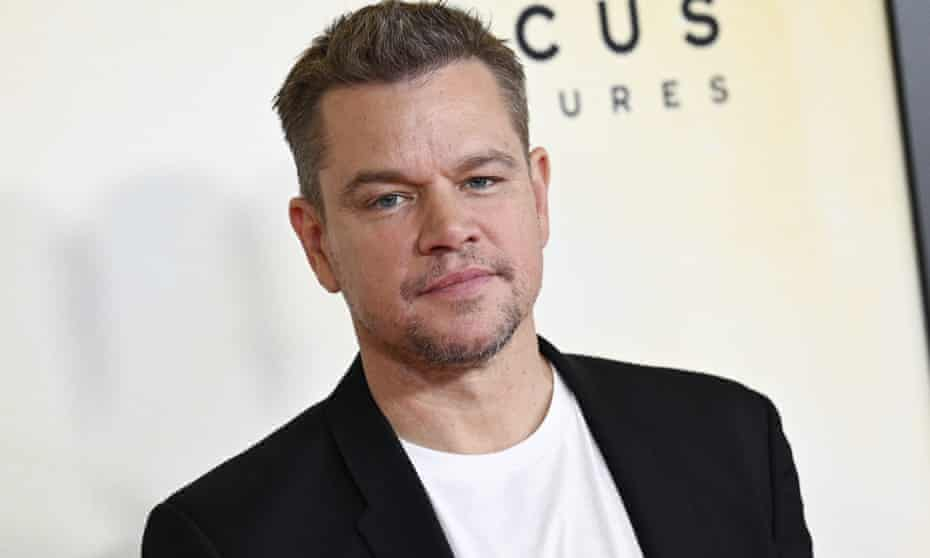 Matt Damon attends the premiere of 'Stillwater' at Rose Theatre at Jazz at Lincoln Center on Monday in New York.