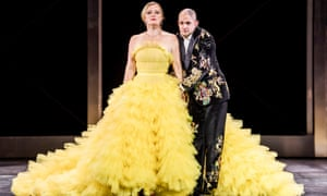 Lucy Crowe (Poppea) and Franco Fagioli (Nerone) in Agrippina