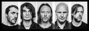 Colin, Jonny, Thom, Phil and Ed.