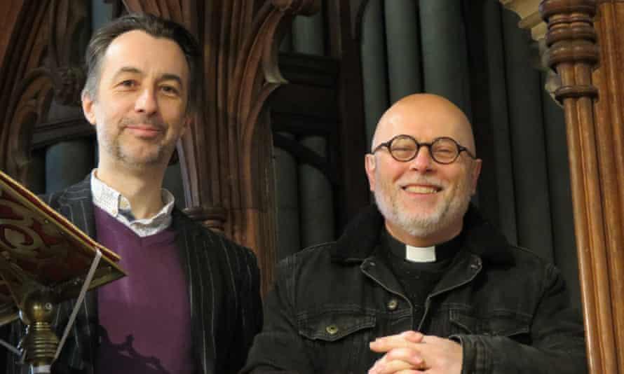 Chris Head and Rev Simon Howell.