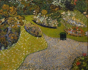 Daubigny's Garden in Auvers, 1890 by Van Gogh.