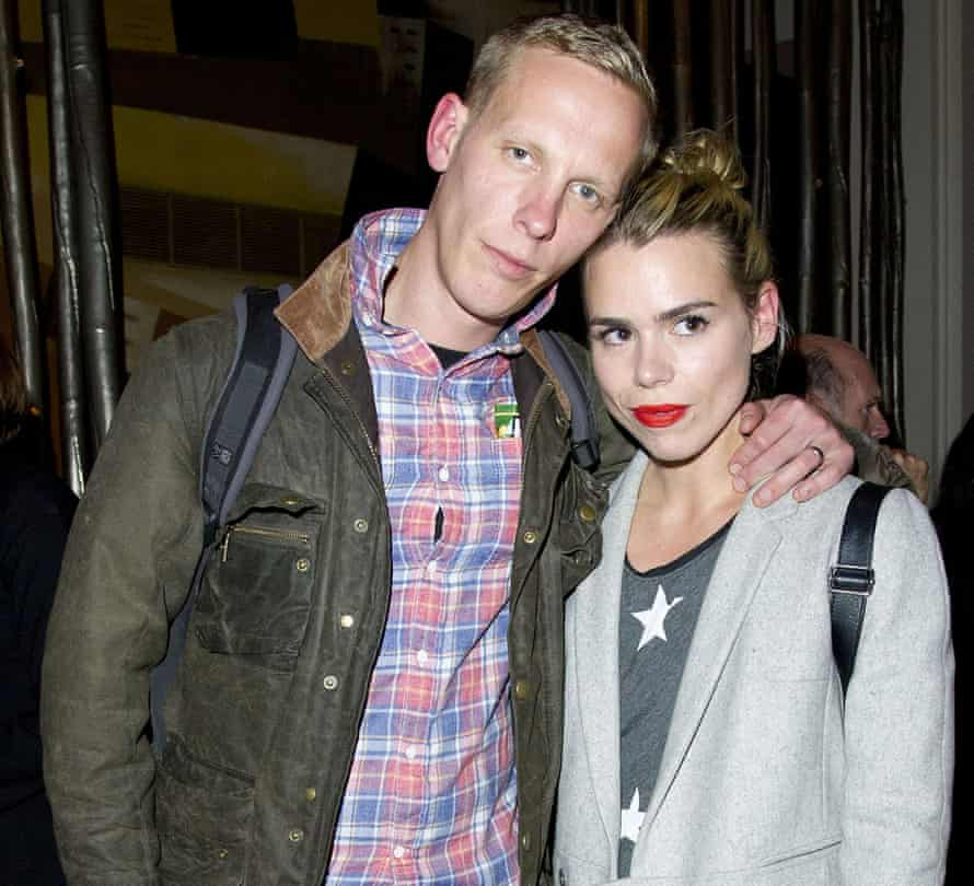 With ex-husband Laurence Fox in 2012.