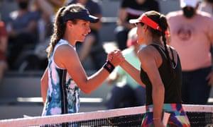 Johanna Konta out and Sorana Cîrstea into the next round.