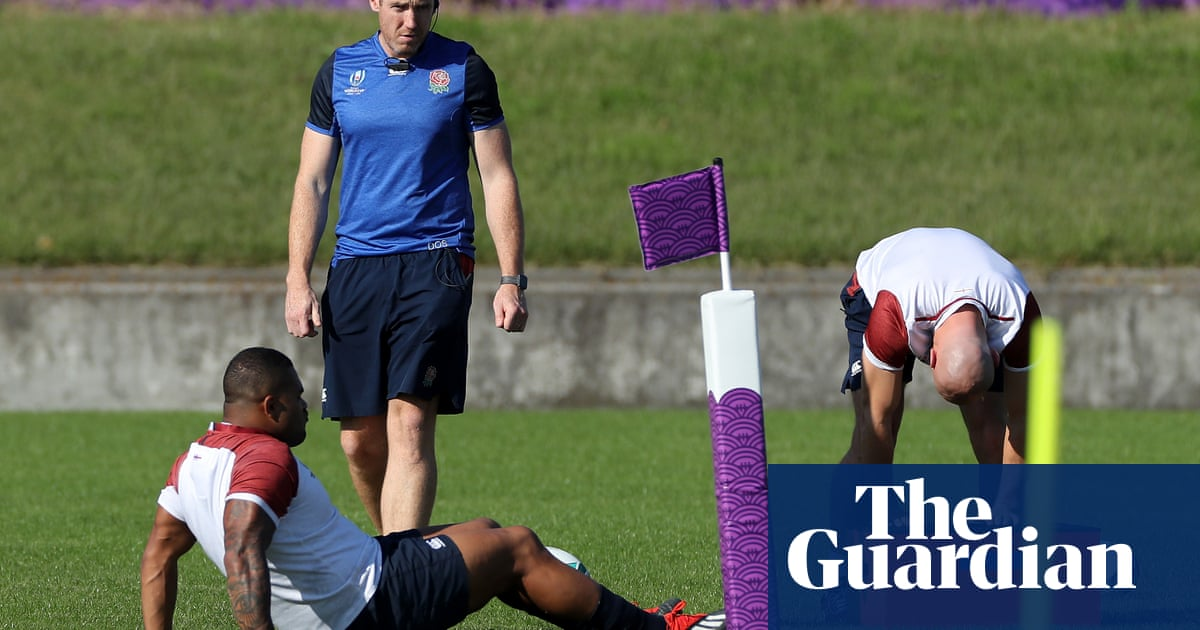 England sweat on Kyle Sinckler after restricted part in training session
