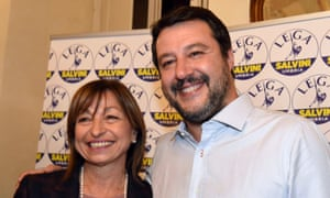 Donatella Tesei and Matteo Salvini