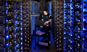 Google's data centre in Dalles, Oregon. 'As the world's demand for computing continues to expand, an increasing proportion of it will take place in shadowy warehouses hundreds of miles from the users who are being served.'