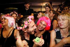 Mardis Gras in Sydney, Australia, on 5 March 2016. Photo by Jonny Weeks for The Guardian.