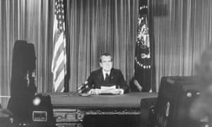 Nixon About to Resign, 8/8/1974.