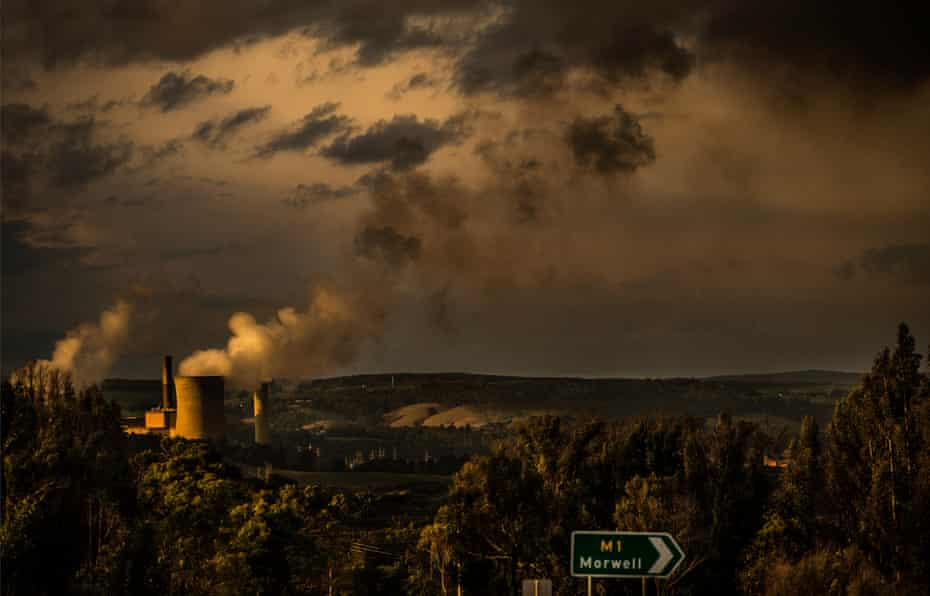 Morwell, where a giant open cut coalmine was built just a few hundred metres from the town. In 2014, the mine caught fire and burned for 45 days - one of the biggest environmental disasters in Victoria's history.