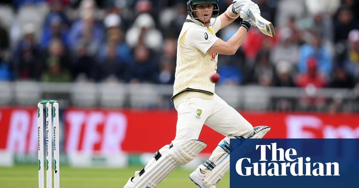 Steve Smith and the rain frustrate England on first day at Old Trafford