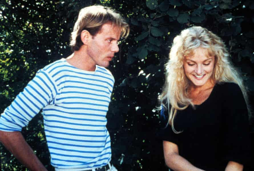 Pascal Greggory and Arielle Dombasle in Pauline at the Beach