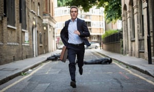 'London looks fabulous' … James Nesbitt in Stan Lee's Lucky Man.