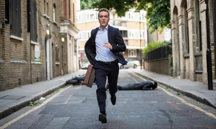 'London looks fabulous' … James Nesbitt in Stan Lee's Lucky Man.