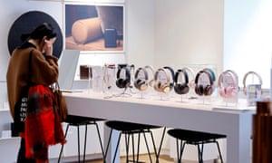 Bang & Olufsen's flagship store in Copenhagen, Denmark