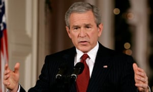 George W Bush struggled with his syntax but even he could shift registers and sound dignified.