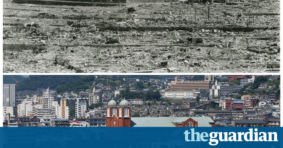 After the A-bomb: Hiroshima and Nagasaki then and now – in ...