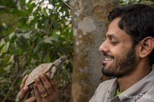 A conservation biologist specialising in reptiles, Shahriar Caesar Rahman is working to preserve Asia's largest tortoise in a remote corner of Bangladesh. In 2011, Caesar began exploring the Chittagong Hills, one of the least explored but most biodiverse areas on the planet. His team discovered the wild Asian giant tortoise, previously thought to be extinct, and a new species of forest turtle.