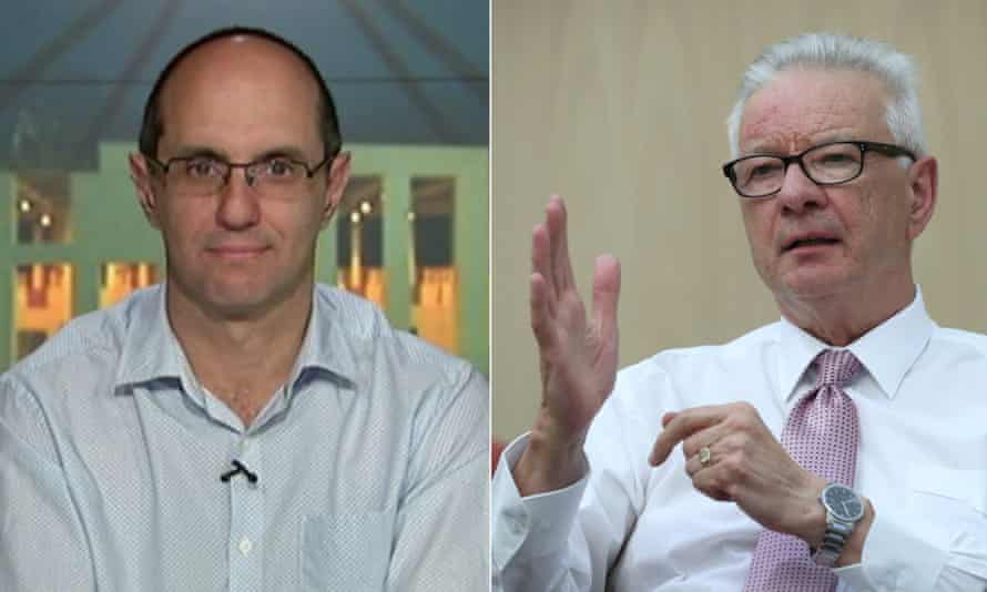 Financial Review journalist Phil Coorey accused Labor senator Doug Cameron of being a 'fraud' in a private text message, which the senator later posted.