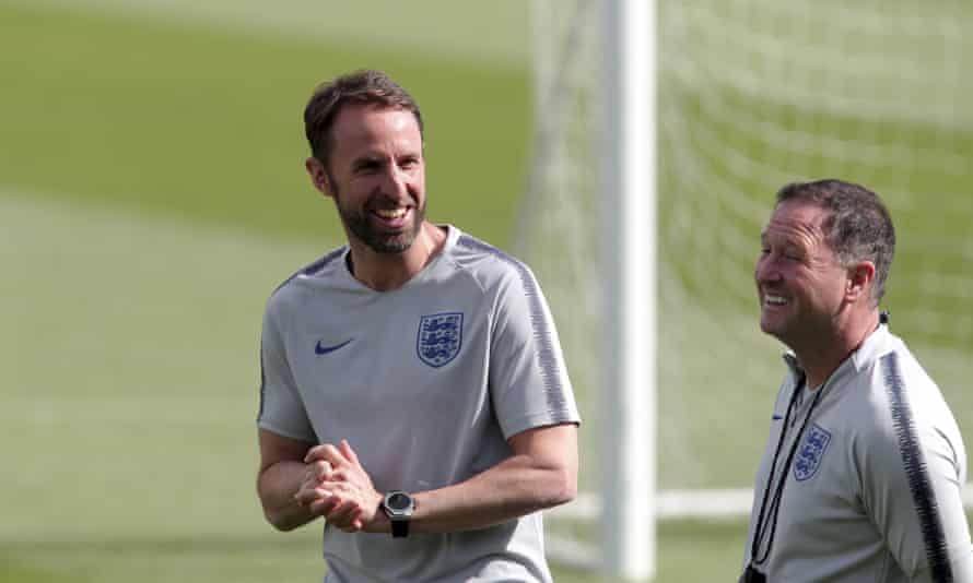 The England manager, Gareth Southgate. has insisted there is 'no way' he will leave his post.