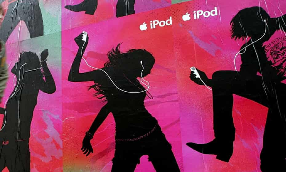 An iPod advert in California from 2006