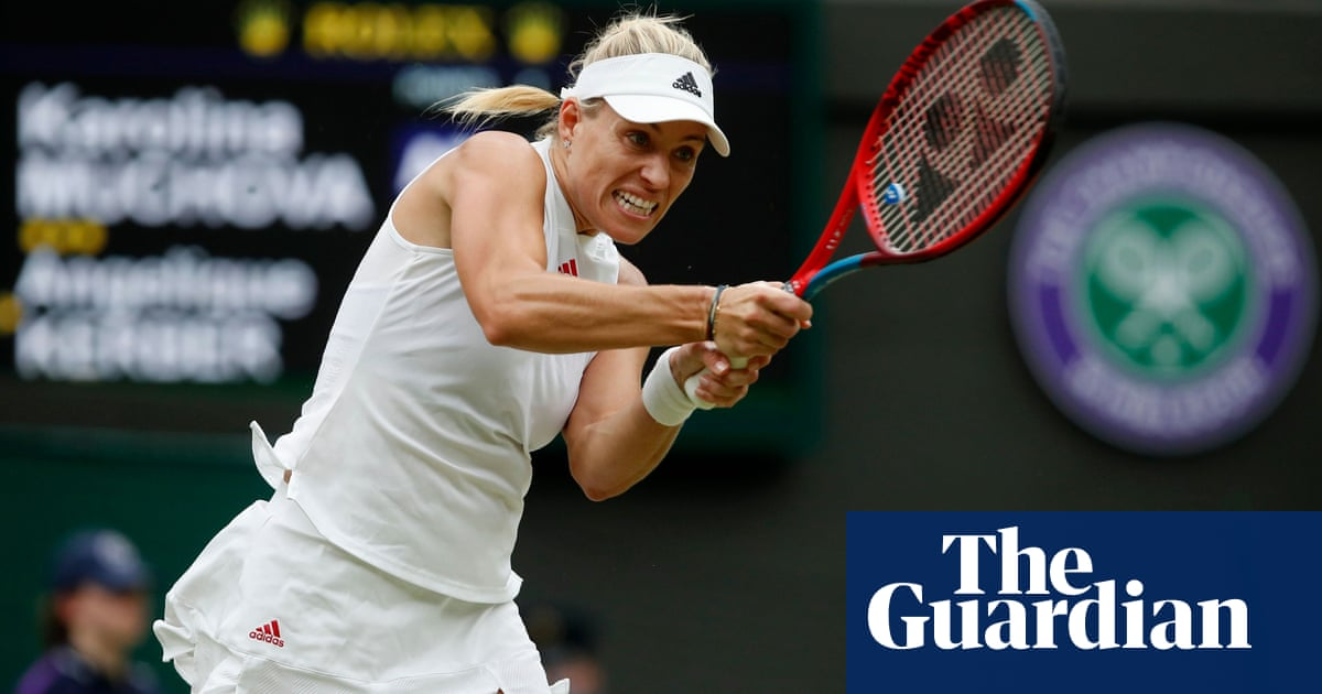 Angelique Kerber sets up Wimbledon semi-final clash with Ashleigh Barty