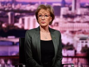 Andrea Leadsom, leader of the House of Commons, in an interview on the BBC's Andrew Marr Show