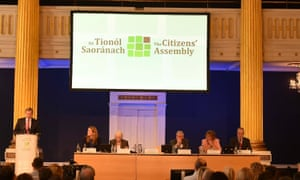 Ireland held a citizens' assembly in 2016 on abortion