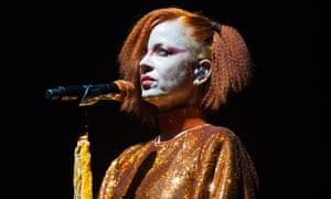Irn-Bru goddess ... Shirley Manson of Garbage.
