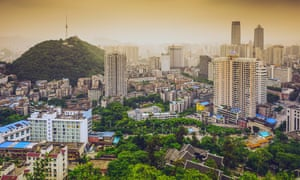 A boom in telecommunications businesses has transformed the once sleepy Guiyang into a commercial hub.