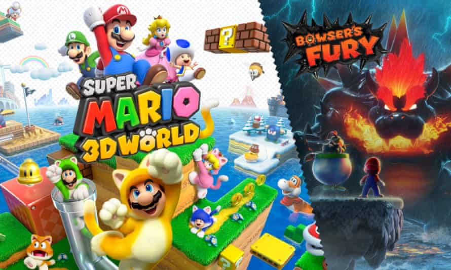Super Mario 3D World + Bowser's Fury.