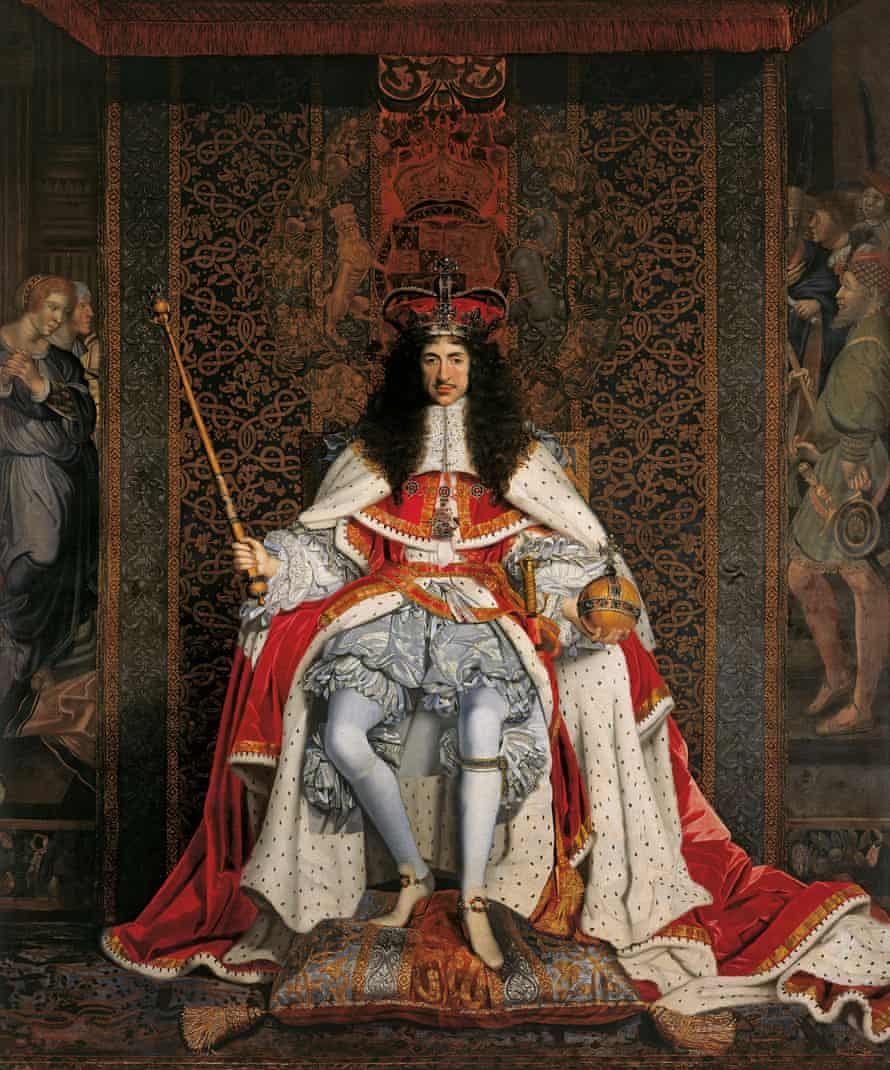 John Michael Wright's painting of Charles II (c1676)