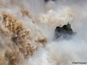 Barron Falls in flood