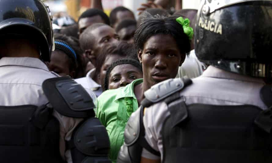 Haitians in Santo Domingo