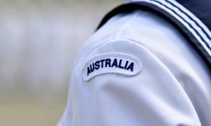Australian navy insignia