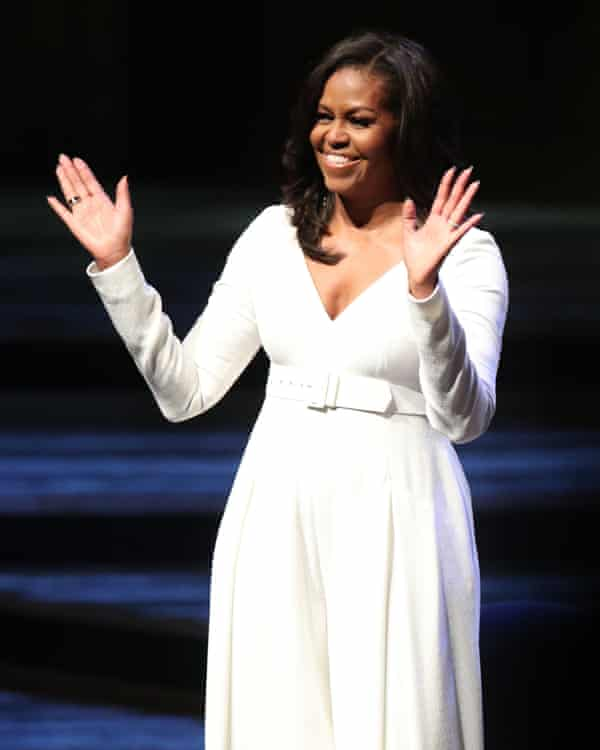 Michelle Obama at the Royal Festival Hall in London.