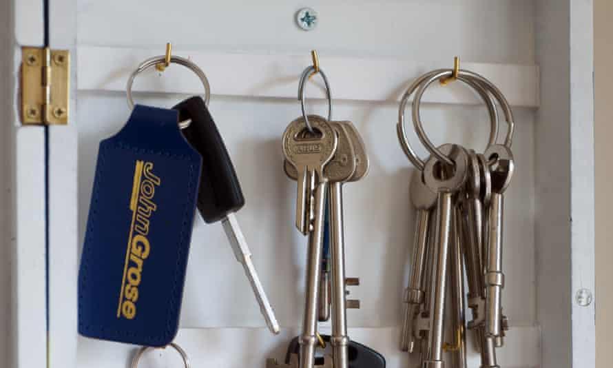 Key target … thieves break in to steal car keys then the car.