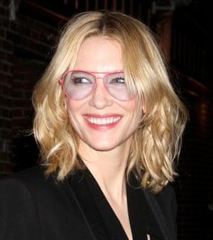 Cate Blanchett in New York last month.