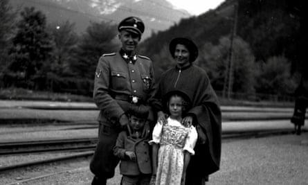 Otto von Wächter with his family in 1944.