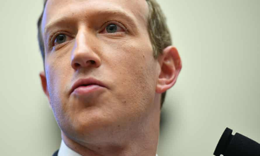 FILES-US-IT-FACEBOOK<br>(FILES) In this file photo taken on October 23, 2019, Facebook Chairman and CEO Mark Zuckerberg testifies before the House Financial Services Committee in Washington, DC. - Facebook on July 7, 2020 pledged to take further steps to remove toxic and hateful content from the leading social network as its top executives were set to meet with organizers of a mushrooming ad boycott. Chief executive Mark Zuckerberg and chief operating officer Sheryl Sandberg were to speak with leaders of the #StopHateForProfit campaign which has garnered more than 900 advertisers pausing their campaigns on Facebook. (Photo by MANDEL NGAN / AFP) (Photo by MANDEL NGAN/AFP via Getty Images)