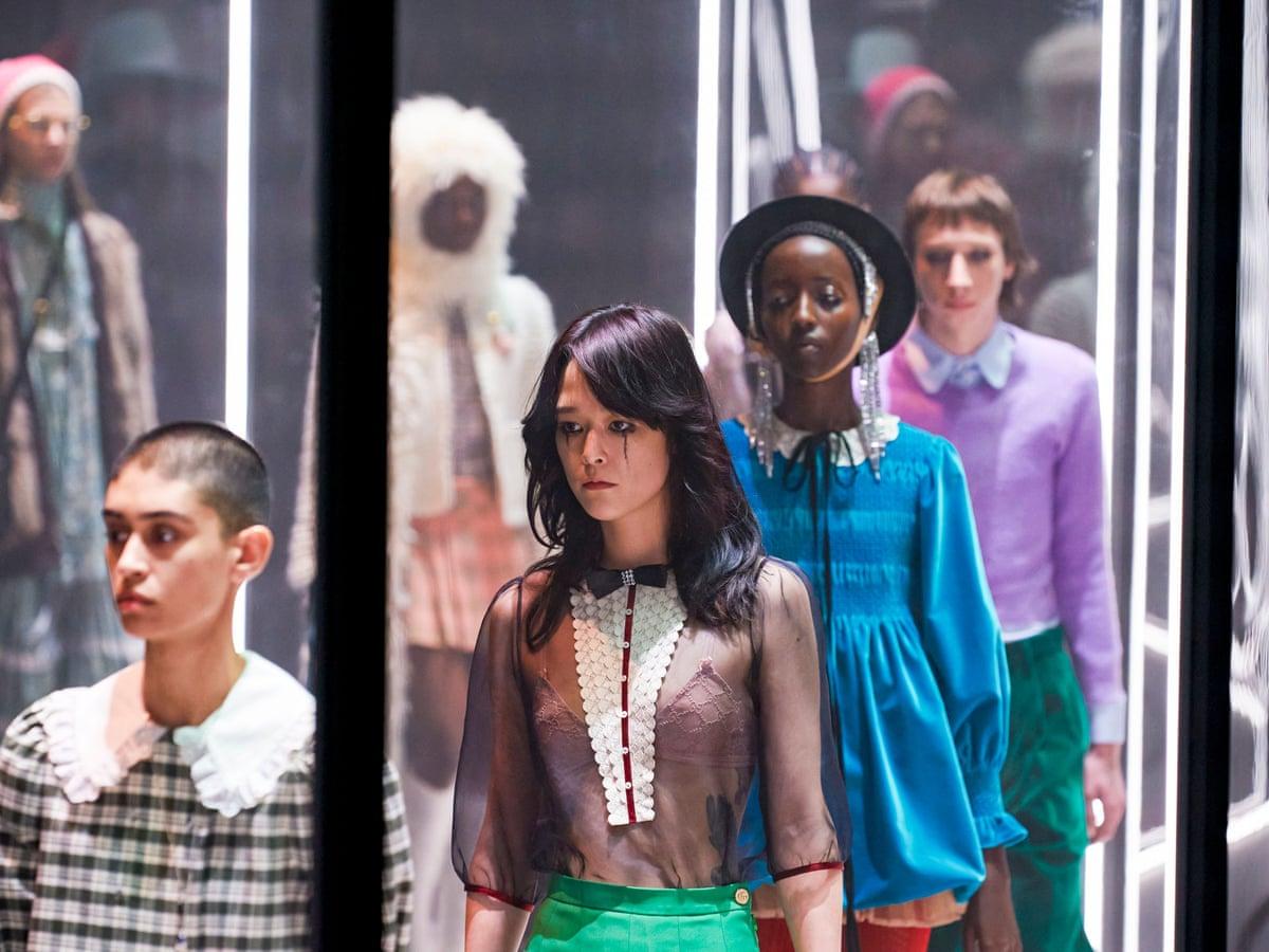 Gucci Bids Farewell To Fashion Week As Brand Goes Seasonless Gucci The Guardian