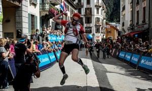 Finishing the UTMB, a 170 km race around Mont Blanc