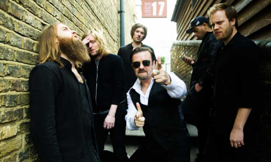 Getting the band back together … David Brent: Life on the Road.