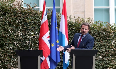 Boris Johnson humiliated by Luxembourg PM at 'empty chair' press conference
