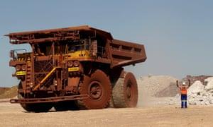 Kumba Iron Ore mine