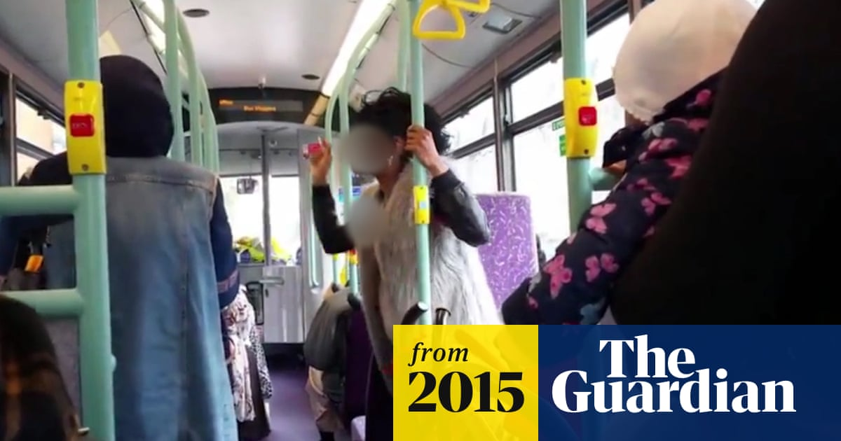 Video shows woman shouting abuse at two Muslims on London bus