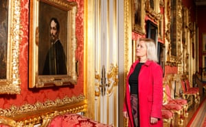 'Electrified': Laura Cumming in front of Velázquez's Portrait of a Man at Apsley House, London.