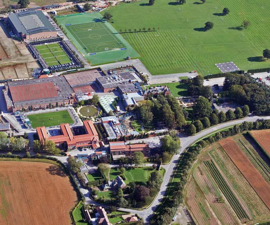 Queen Ethelburga's Collegiate.