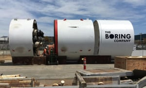 The Boring Company plans to drill a network of tunnels underneath cities to ease transport congestion.